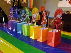 Rainbow Brite decor!