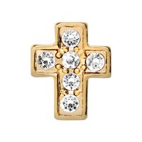 CRYSTAL GOLD CROSS