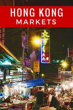 Visiting Hong Kong markets like the Yuen Po Bird Garden, Flower Market in Mongkok, Goldfish Market, Cat Street, and Temple Street Night Market.