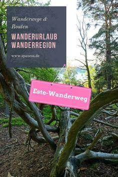 Wandern in Deutschland - Wandern auf dem Estewanderweg.