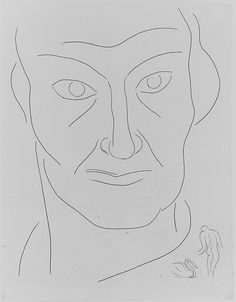 "Henri Matisse ""Charles Baudelaire"" 1932 Etching"