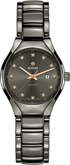 Rado Watch True Diamonds Sm #add-content #basel-17 #bezel-fixed #bracelet-strap-ceramic #brand-rado #case-depth-9-8mm #case-material-ceramic #case-width-30mm #date-yes #delivery-timescale-call-us #dial-colour-grey #gender-ladies #luxury #movement-automatic #new-product-yes #official-stockist-for-rado-watches #packaging-rado-watch-packaging #style-dress #subcat-true #supplier-model-no-r27243732 #warranty-rado-official-2-year-guarantee #water-resistant-50m