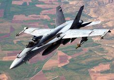 Fighter F/A-18 superhornet
