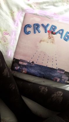 Crybaby Vinyl - Melanie Martinez (my own photo)