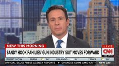 "On Friday, ABC and CNN's morning newscasts hyped a Connecticut Superior Court judge's decision to let the families of nine Sandy Hook victims continue their lawsuit against gunmakers and sellers. On New Day, CNN's Chris Cuomo echoed the language of the pro-gun control Brady Campaign: ""A big development — a major win this morning for families of the Sandy Hook shooting victims: a lawsuit holding gunmakers and sellers responsible for the shooting rampage will not be dismissed."""