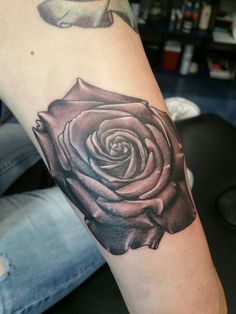 BlackAndGrey Rose Tattoo Flower Black And Grey Tattoos, Flower Tattoos, Rose, Flowers, Tattoos Of Flowers, Pink, Black And Gray Tattoos, Florals, Blossom Tattoo