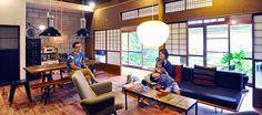 築54年の家をリノベーションミッドセンチュリーの家具が似合う同世代の日本家屋