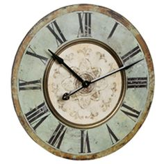 I pinned this Vienna Wall Clock from the Resolution: Work Smarter event at Joss and Main!