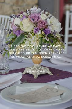 Esküvői idézetek - esküvői fotós fotobese Table Decorations, Smile, Weddings, Quotes, Quotations, Bodas, Wedding, Qoutes, Quote