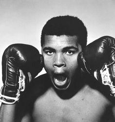 The American boxer Muhammad Ali, 1963 © Philippe Halsman / Magnum Photos