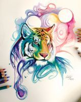 135- Spirit Tiger by Lucky978