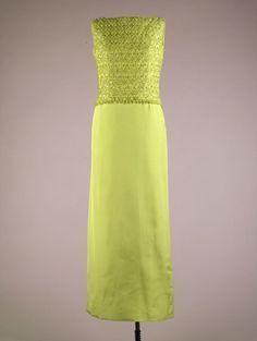 Evening Skirt and Shell Top - John F. Kennedy Presidential Library & Museum 1961  #TuscanyAgriturismoGiratola