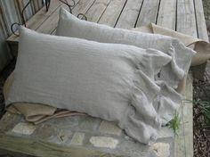 Linen Pillow Case Shams