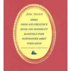 Love Jane Austen. Have seen all the books in dramatization, but haven't read them yet. Something to do!