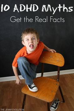 ADHD Myths: Get the Real Facts, Misconceptions about Children with Executive Function ADD, What Parents should know, the Truth about ADHD Parenting Articles, Parenting Hacks, Preschool Director, Preschool Lessons, Adhd And Autism, Adhd Kids, Teaching Career, Teaching Ideas, Effective Classroom Management