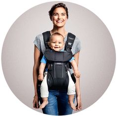 Baby Carrier One – new generation baby carrier with 4 carrying positions