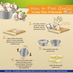 How to Peel Garlic in 10 seconds...will see