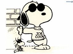 Joe Cool Tattoo (Snoppy and Woodstock)