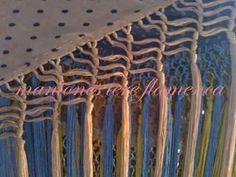 Fleco Fringes, Knots, Arabic Food, Knitting, Crafts, Embroidery, Happy, Flamenco Dresses, Crochet Fringe