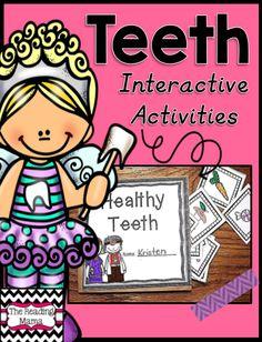 DENTAL HEALTH PACK https://www.teacherspayteachers.com/Product/Teeth-1657891