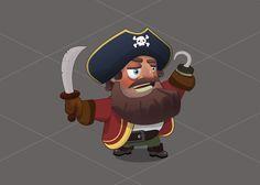 Pirate captain Morgan, Ростислав Варлаков on ArtStation at https://www.artstation.com/artwork/6kNnW