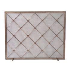 custom lattice fire screen, avrett Custom Fireplace Screens, Fireplace Design, Fireplace Mantels, Fireplaces, Fine Furniture, Contemporary Furniture, Cedar Homes, Custom Lighting, Home Projects