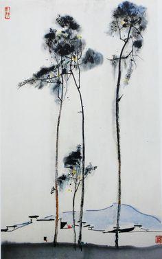 Wu Guanzhong, 吴 冠中 Chinese, 1919-2010