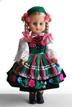 polish folk doll