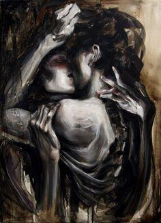 Dabin lee - lovers art 1 (other kind of wonderful) в 2019 г. Fantasy Kunst, Fantasy Art, Art Ancien, Romance Art, Arte Cyberpunk, Exotic Art, Couple Art, Aesthetic Art, Dark Art