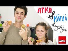 Atka & Kifli konyhája 4. rész - Csecse Attila | Kika Magyarország - YouTube Youtubers, Amp, Attila, Youtube