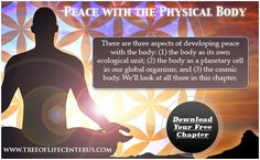 Peace with the body is the first level of awareness. Read full blog article written by Dr. Gabriel Cousens.