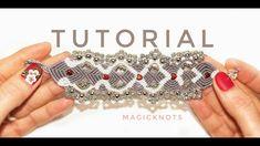 Micro Macrame Believe Heart Bracelet DIY♥
