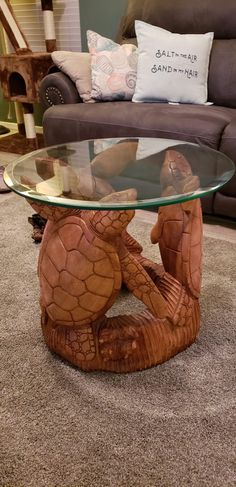 My new table bought at the gem show here in Tucson. The name on the receipt is Ampac International out of Greenacres Washington Beach House Decor, Diy Home Decor, Room Decor, Turtle Homes, Home Decoracion, Terrapin, Tortoises, Sea Turtles, Coastal Cottage