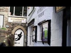 ▶ WITCHCRAFT IN CORNWALL - THE MUSEUM OF WITCHCRAFT BOSCASTLE CORNWALL - YouTube