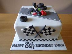 Go Kart Cake by Zoe Robinson