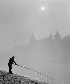 'Pêche au bord de Seine', 1956 – Kees Scherer