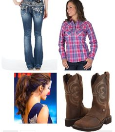 Cute for a country night out Costume Ideas, Costumes, Cowgirl Outfits, Jeans And Boots, Cowboy Boots, Night Out, Outfit Ideas, Country, My Style