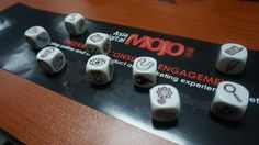 Story Cubes: We at ADMOJO love a good story! In fact, we use story cubes to come up with wild ones to serve the real purpose of sparking our imaginations and prepare us for some creative thinking. #ADMOJO #StoryCubes