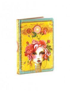 Papaya Art Small Journal - Rose