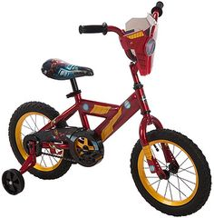 Boys' 14 inch Huffy Iron Man Titan Hero Bike