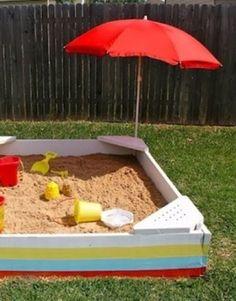 Make a Sandbox - 30 Days of Easy Summer DIY - Bob Vila