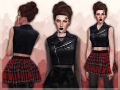 Cropped leather biker vest at SalemC via Sims 4 Updates  Check more at http://sims4updates.net/accessories/httpsalem-c-tumblr-compost132798554000cropped-leather-biker-vest-acc-ts4-standalone-6-at-salem2342/