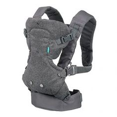 Infantino Flip Advanced 4-in-1 Convertible Carrier, Light Grey  I