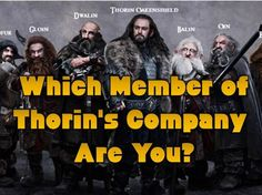 Which Member of Thorin's Company are you most like? I got Gandalf