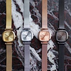 The Moneypenny Royale series, perfect gifts. #komono #watches