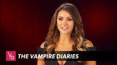 The Vampire Diaries: Season 8 - Official Goodbye (Nina Dobrev, Ian Somer. The Vampire Diaries 3, Vampire Diaries Seasons, Vampire Diaries The Originals, Nina Dobrev Interview, Vampire Shows, Vampire Daries, Kevin Williamson, Ian And Nina, Popular Book Series
