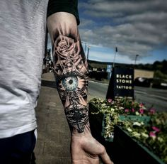 Astronishing Forearm Tattoo #tattoosformenforearm