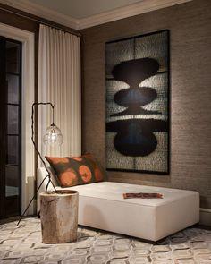 Modern interior design corner ROBYN SHAPIRO DESIGN