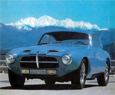 Pegaso Z-102 Berlinetta Superleggera (Series II), 1954