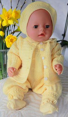 free knit 18 doll patterns Knit/Doll Clothes – ABC Knitting Patterns – Free Knitting and Sirdar Knitting Patterns, Knitted Doll Patterns, Knitted Dolls, Baby Patterns, Free Knitting, Knitted Bags, Yarn Dolls, Sock Knitting, Dolls Dolls
